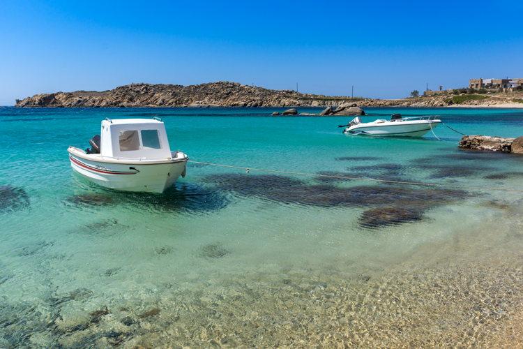 Des criques sublimes à Mykonos