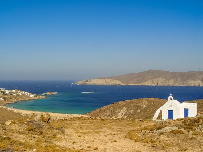 Cherchez bien ! Vous trouverez aussi un côté sauvage à cette île de Mykonos