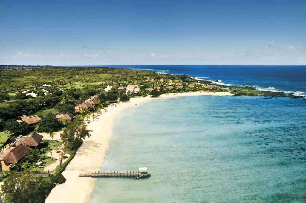 Shanti hôtel à l'île Maurice