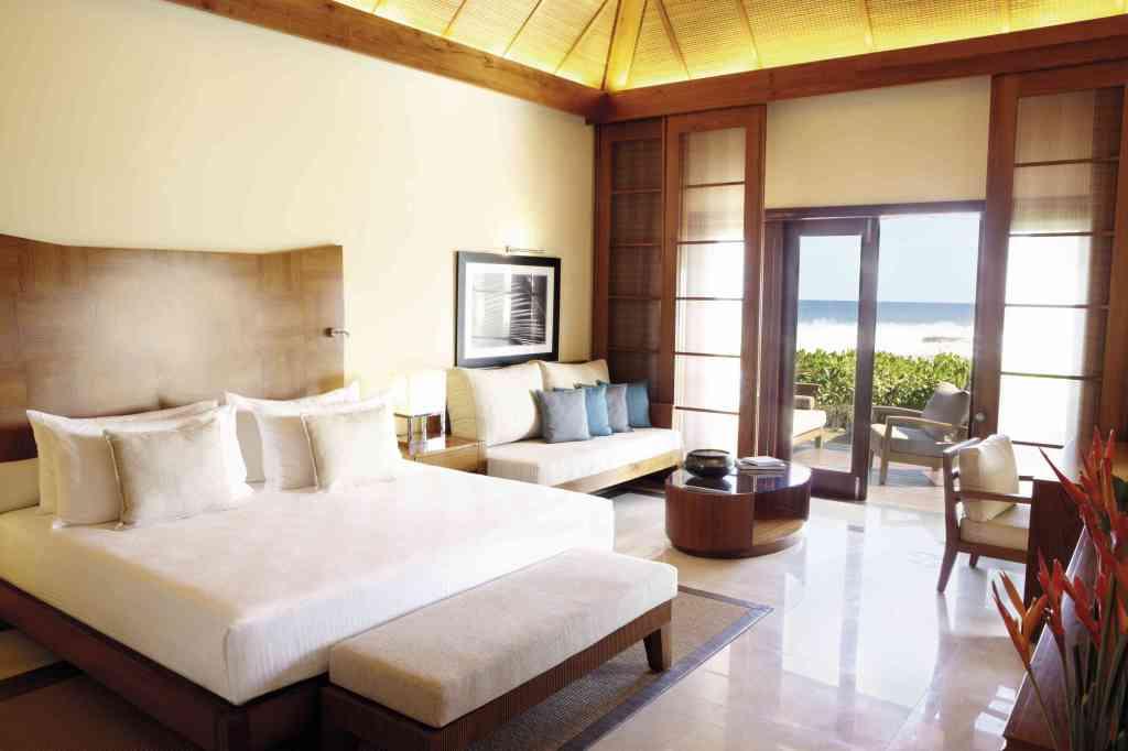 Ma suite au Shanti hôtel à l'île Maurice