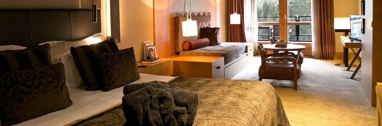 Ma chambre au Sport Hôtel Hermitage & Spa à Soldeu