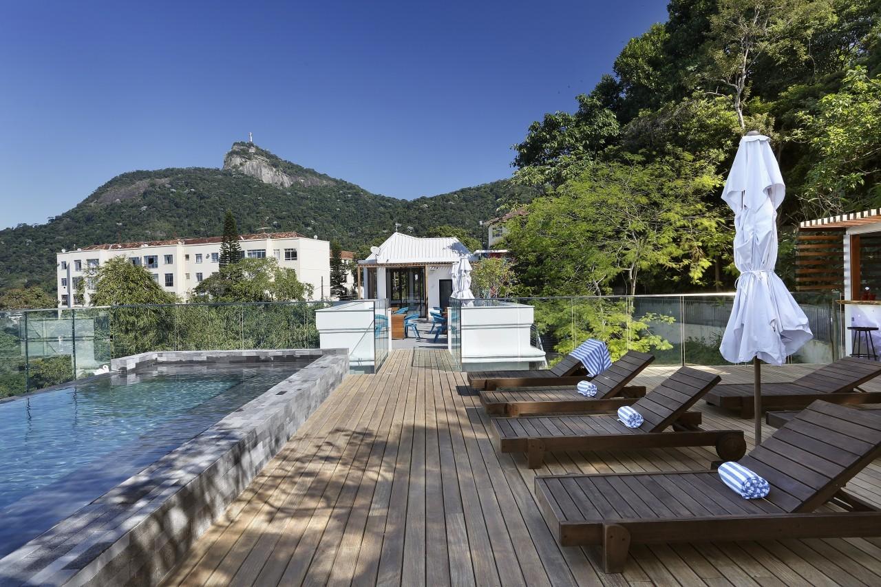 Profiter de la piscine à Rio de Janeiro à la Casa Marques