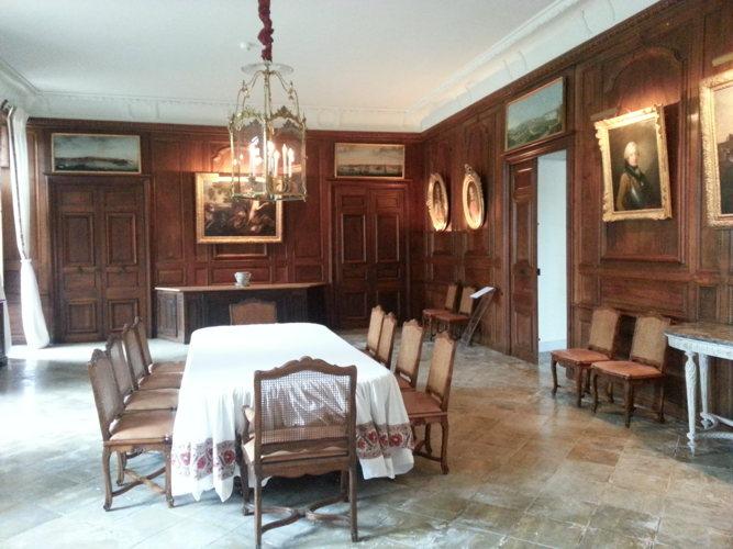 A table au Château à Parentignat