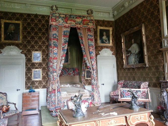 A l'intérieur du château à Parentignat