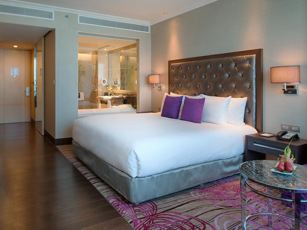Ma chambre au Radisson Blu Plaza à Bangkok