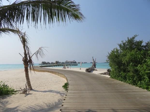 Dans le Soneva Jani aux Maldives