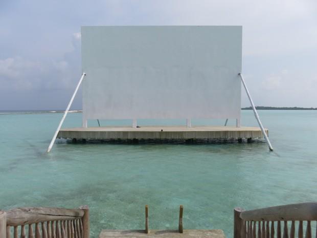 Le cinéma au Soneva Jani aux Maldives
