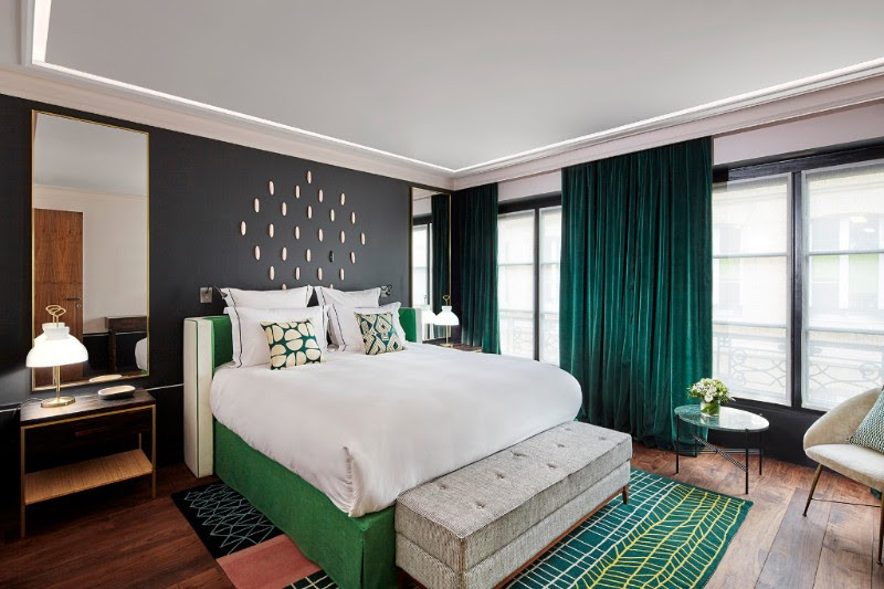 Dans ma chambre au Roch Hôtel & spa à Paris