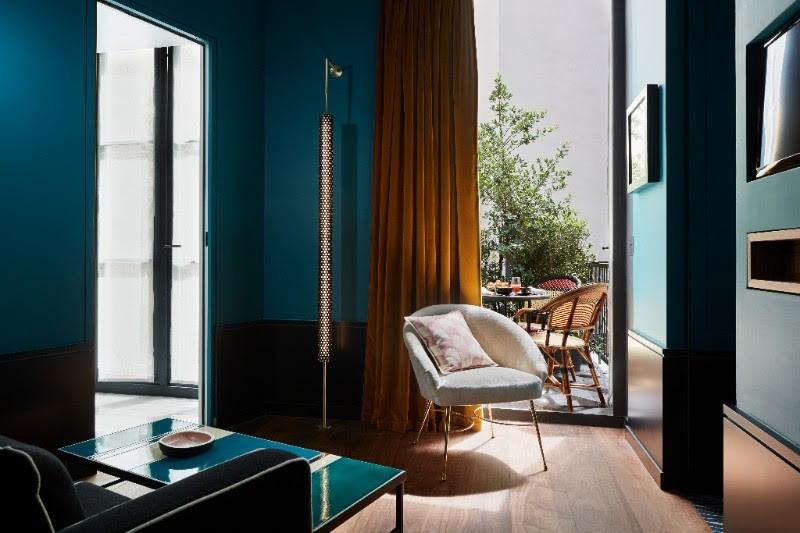 Dans ma chambre luxe au Roch Hôtel & Spa à Paris