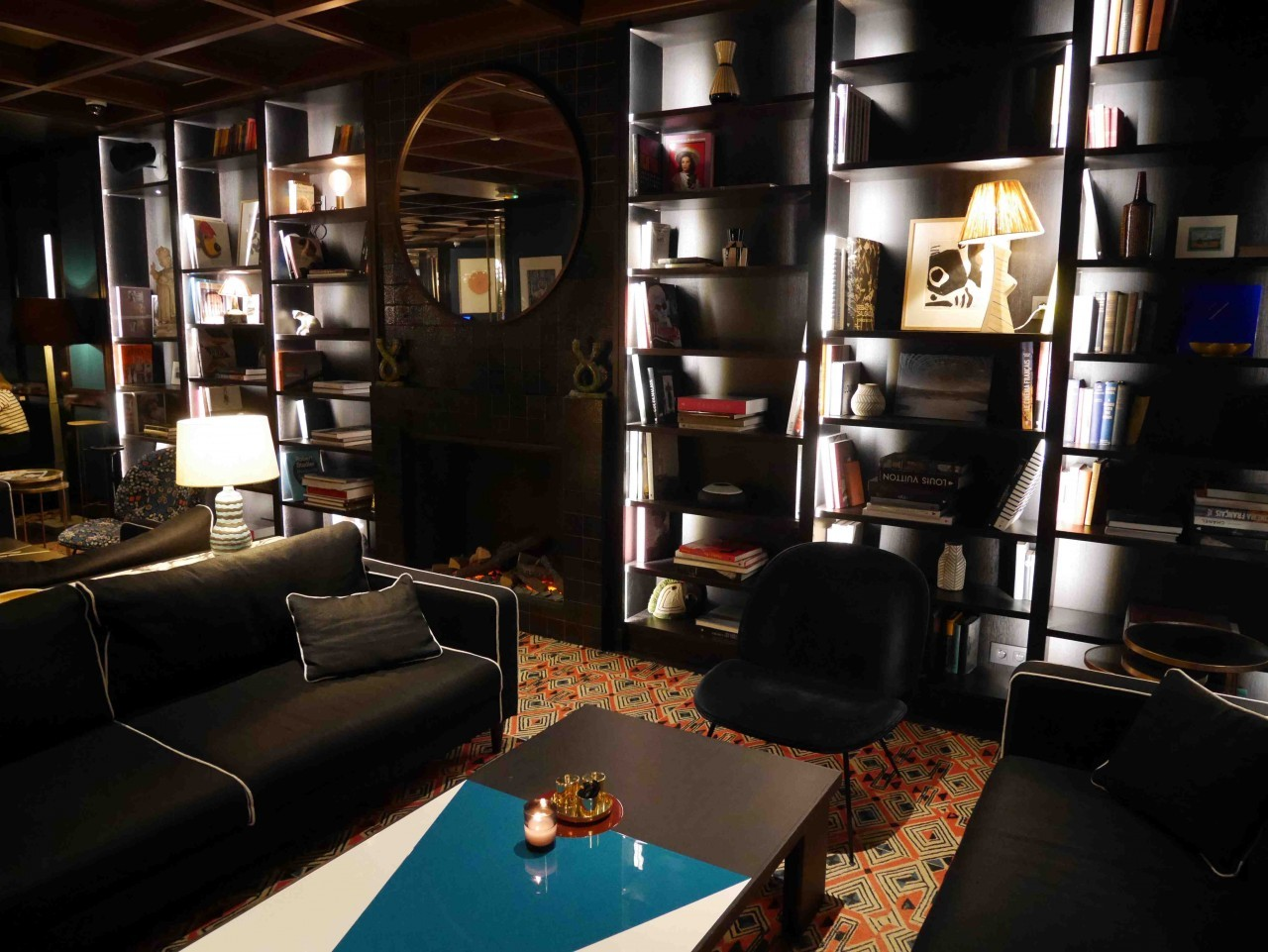 Les espaces communs du Roch Hôtel et Spa à Paris