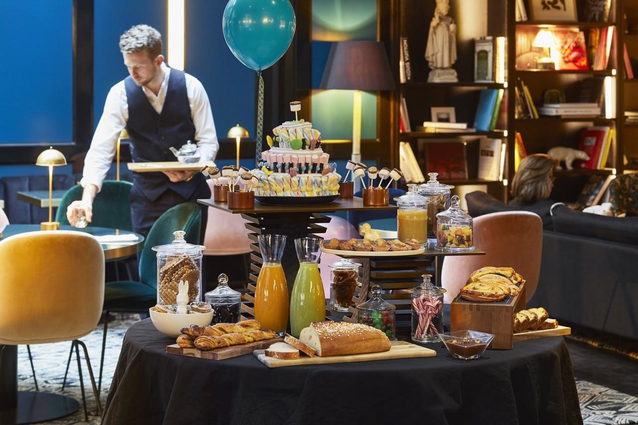 Le petit-déjeuner au Roch Hôtel & Spa à Paris
