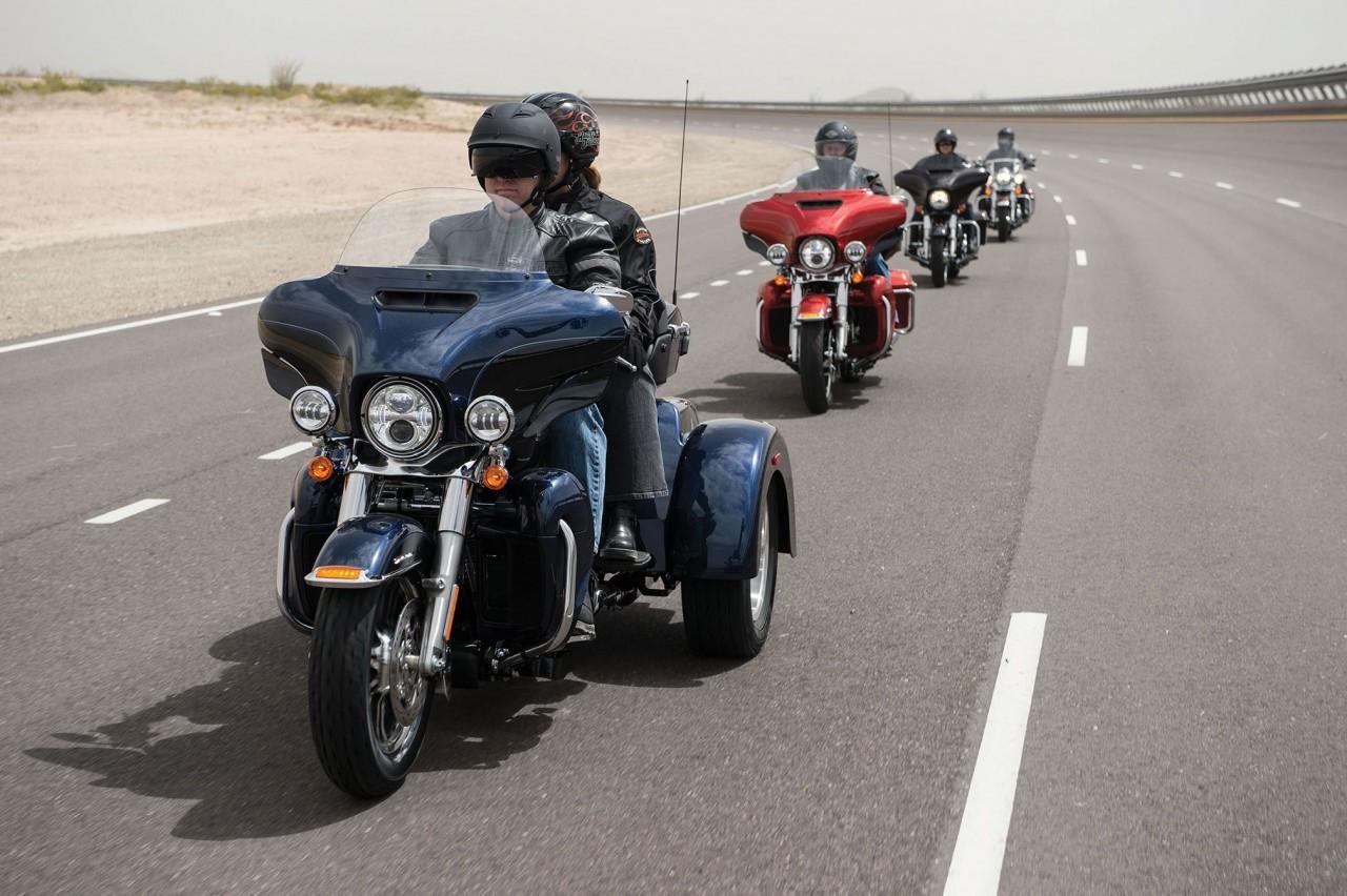 Voyager en Harley-Davidson