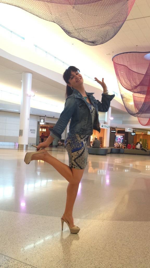 Trip-interview de Valérie Orsoni à l'aéroport
