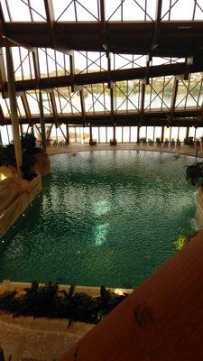 La piscine à vagues