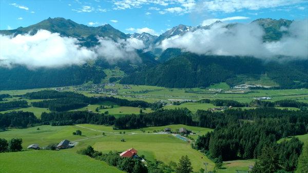 Le paysage grandiose du futur Six Senses en Autriche