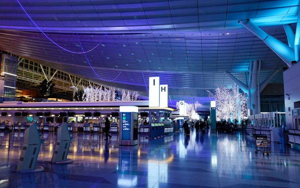 L'aéroport de Tokyo