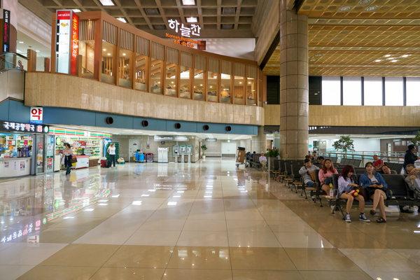 L'aéroport de Séoul