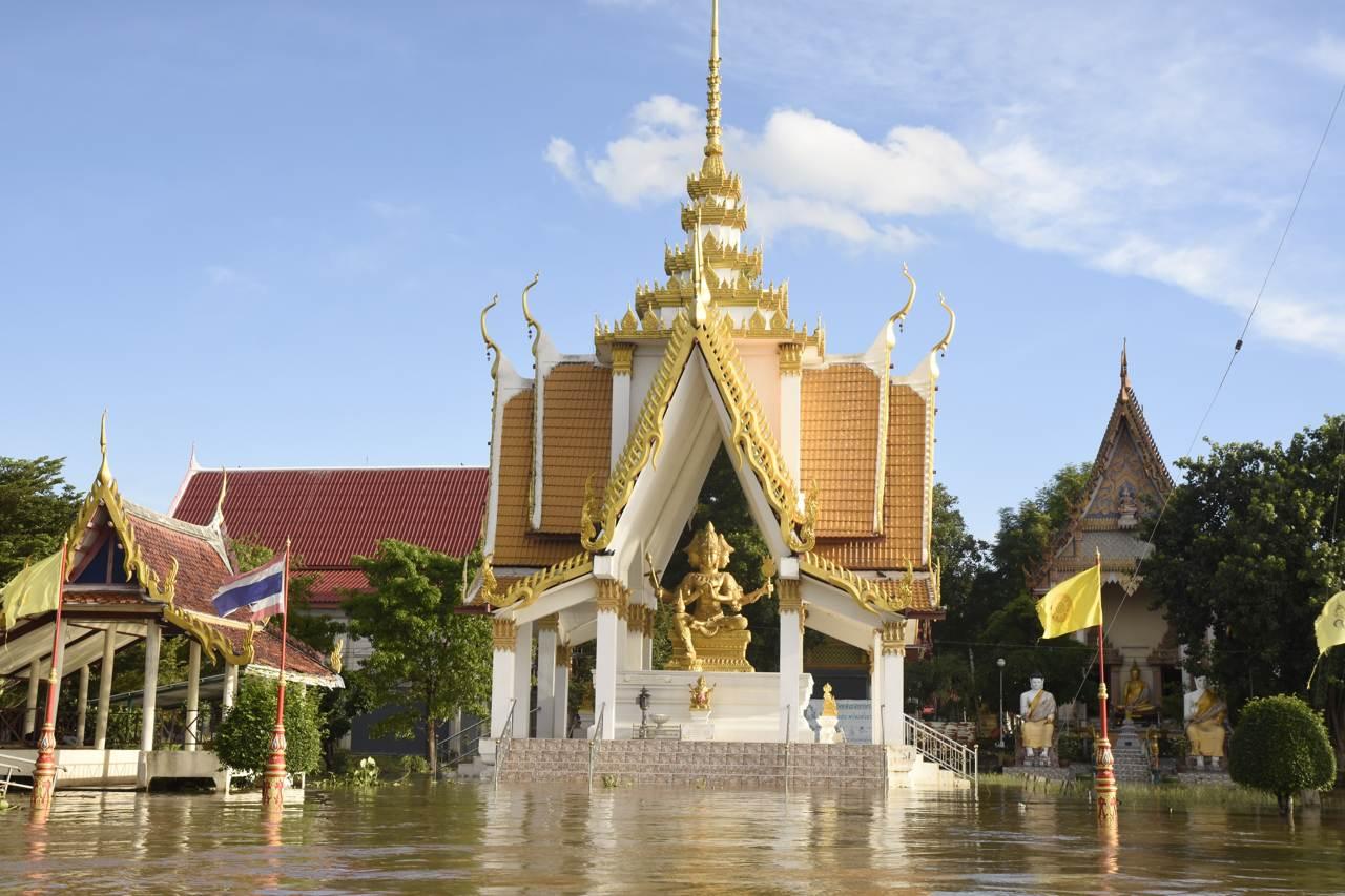 Un temple toujours aussi sublime à Chiang Mai