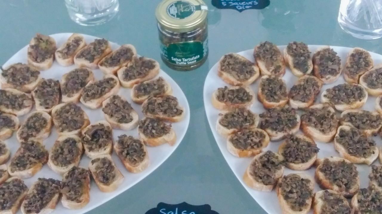 Une crème à la truffe exceptionnelle