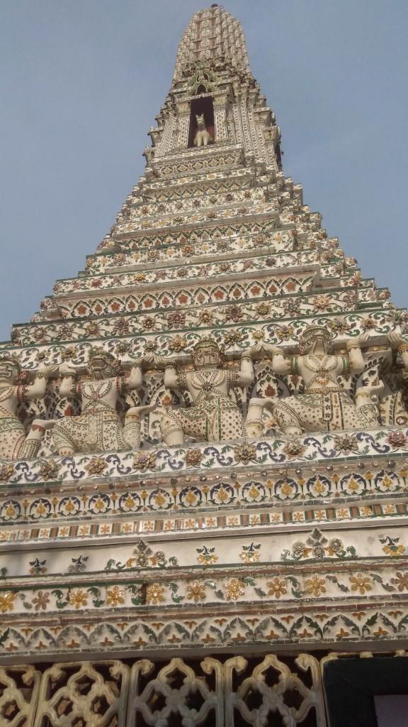 Le Wat arun à Bangkok