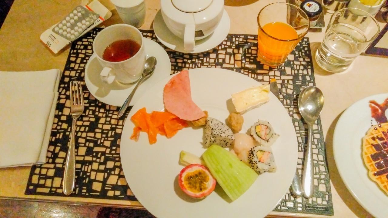 Prendre un petit déjeuner à l'Intercontinental à Bangkok est un pur bonheur !