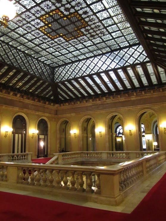 Visite au Parlement de Catalogne à Barcelone