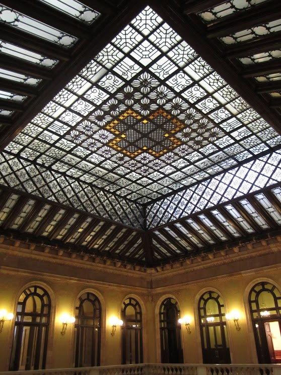 La verrière du Parlement de Catalogne Photographies©NancyBesse