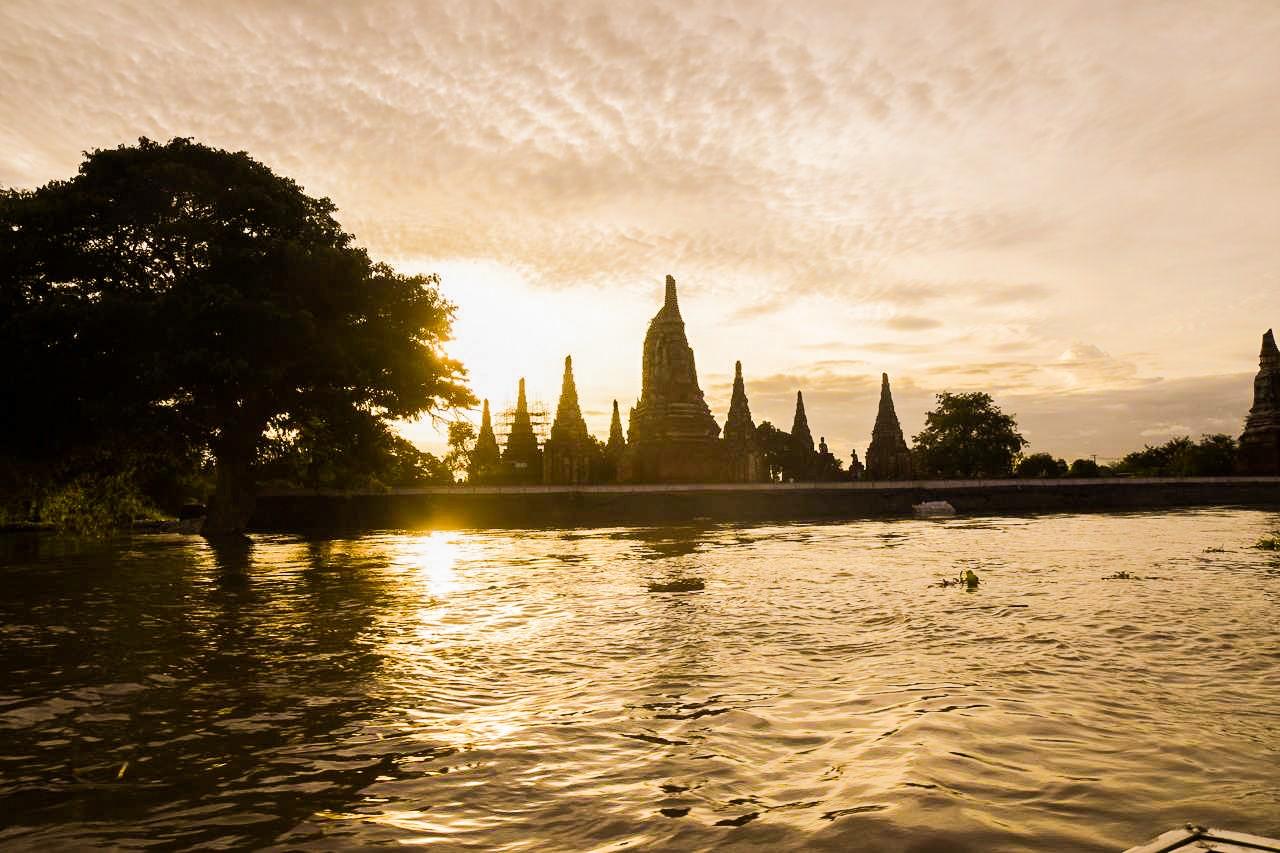 Voyage Thaïlande Ayutthaya bateau