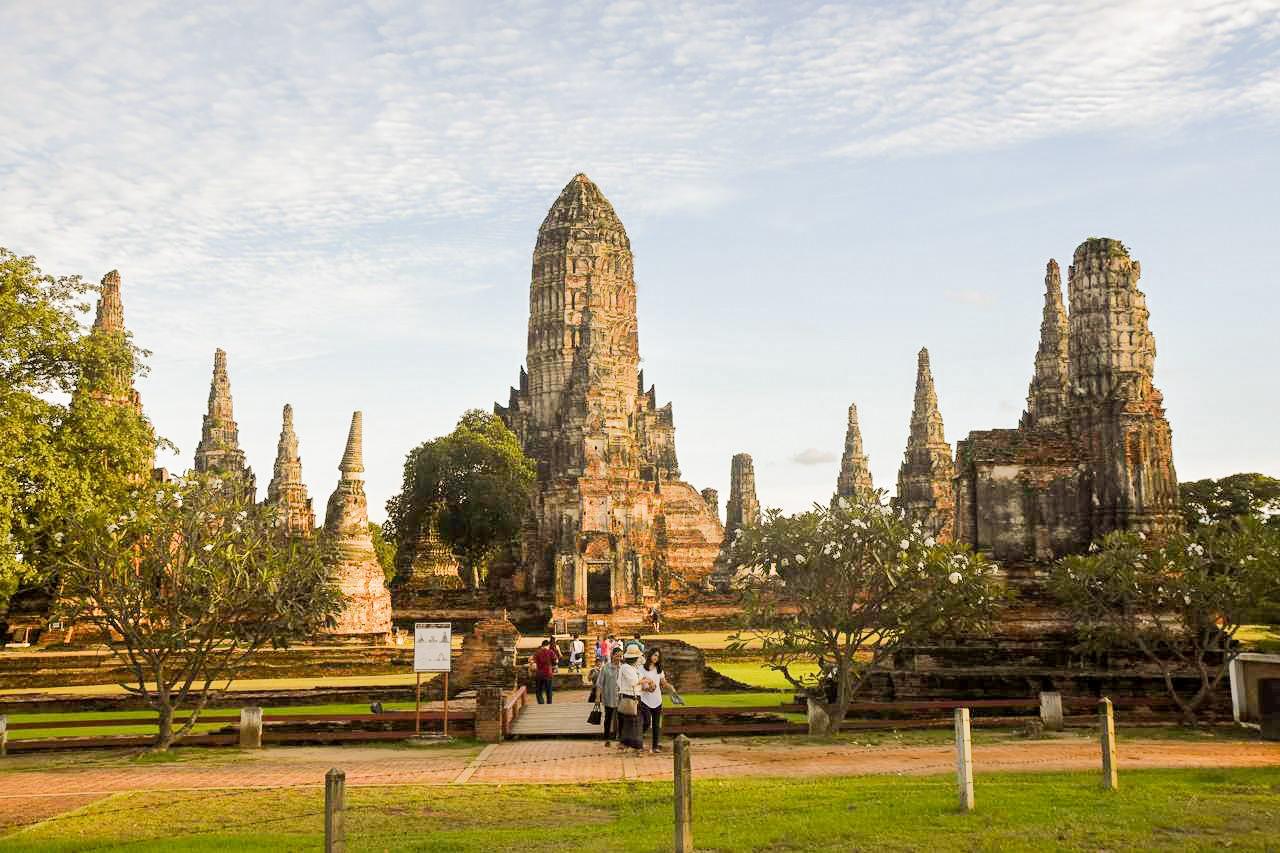 Voyage à Ayutthaya