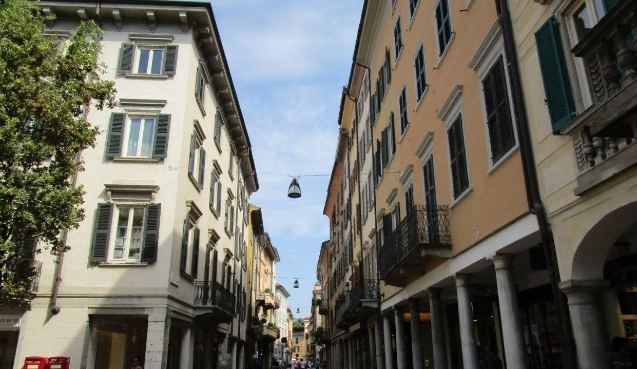 Dans les rues de Varese DR : ©Nancy Besse