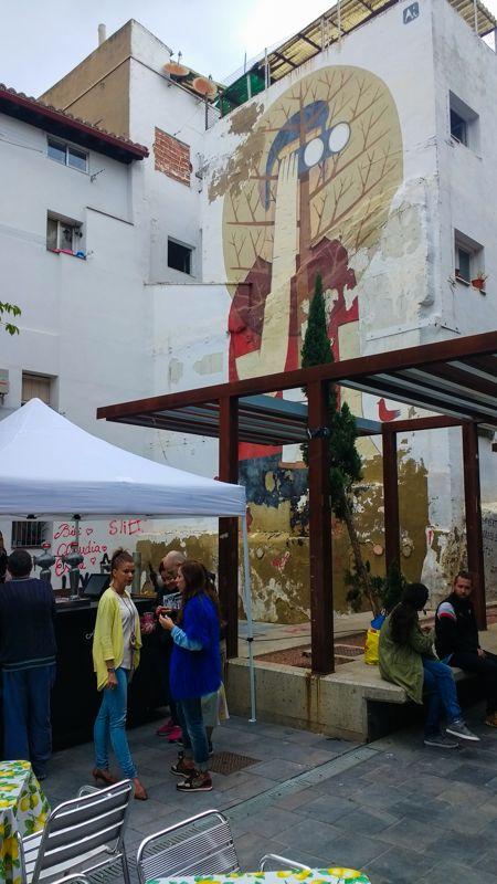 Œuvres de street art dans Saragosse