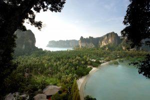 Dans le spa du Rayavadee Resort à Krabi