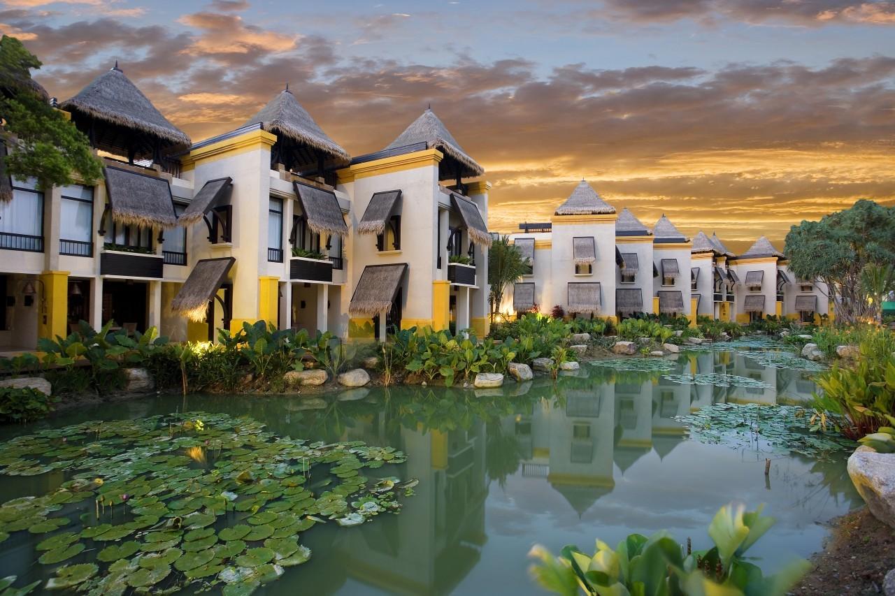 Les villas du lagon du Mövenpick Resort & Spa à Karon Beach à Phuket