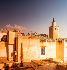 Parcourir Tunis au soleil