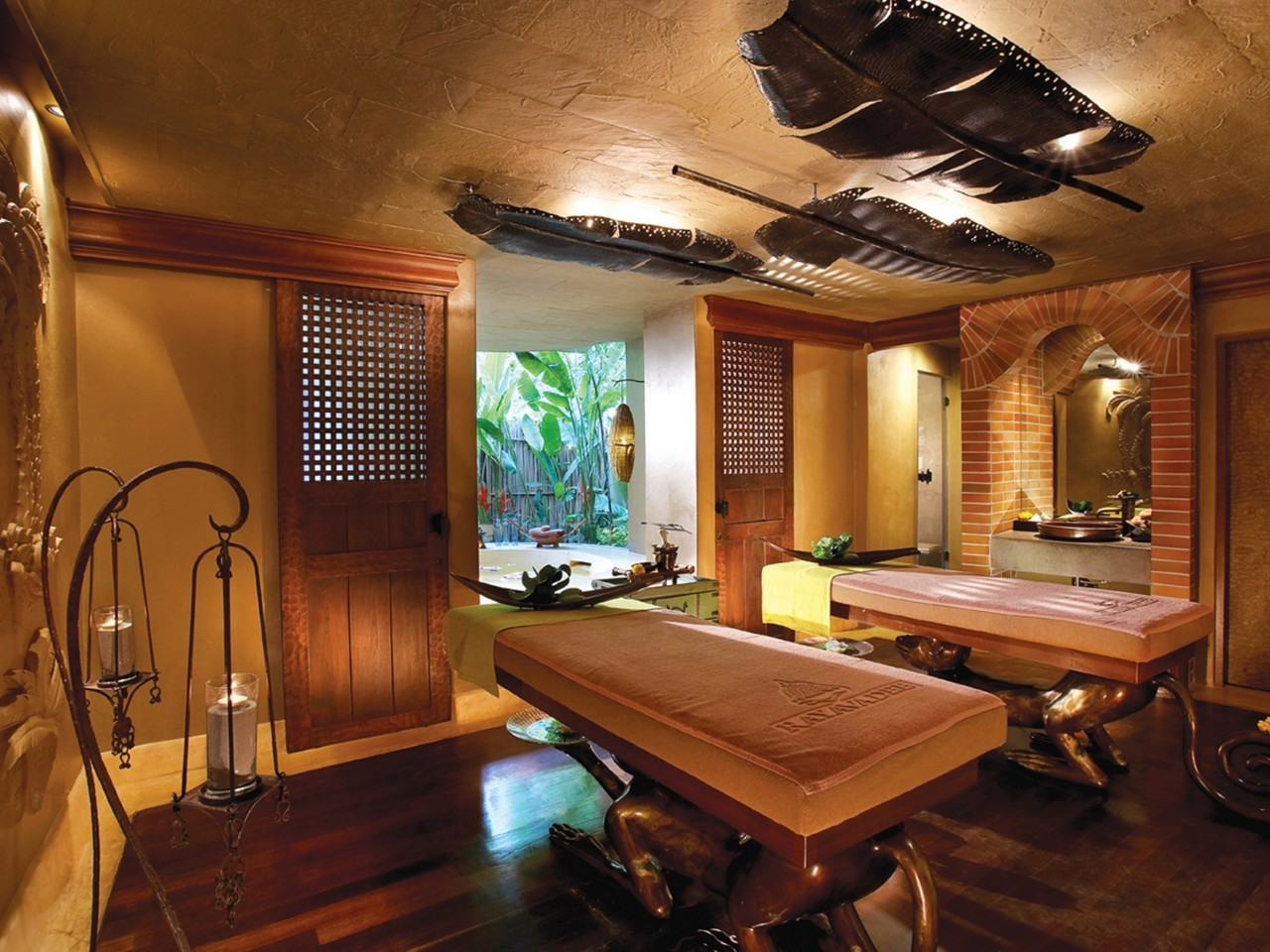 Le spa du Rayavadee Resort à Krabi