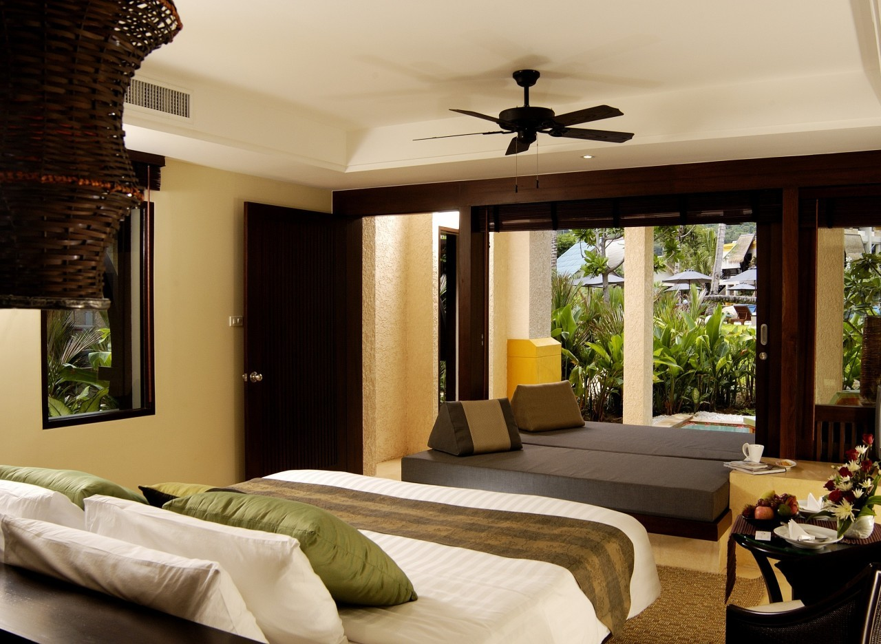Dans la chambre du Mövenpick Resort & Spa à Karon Beach à Phuket