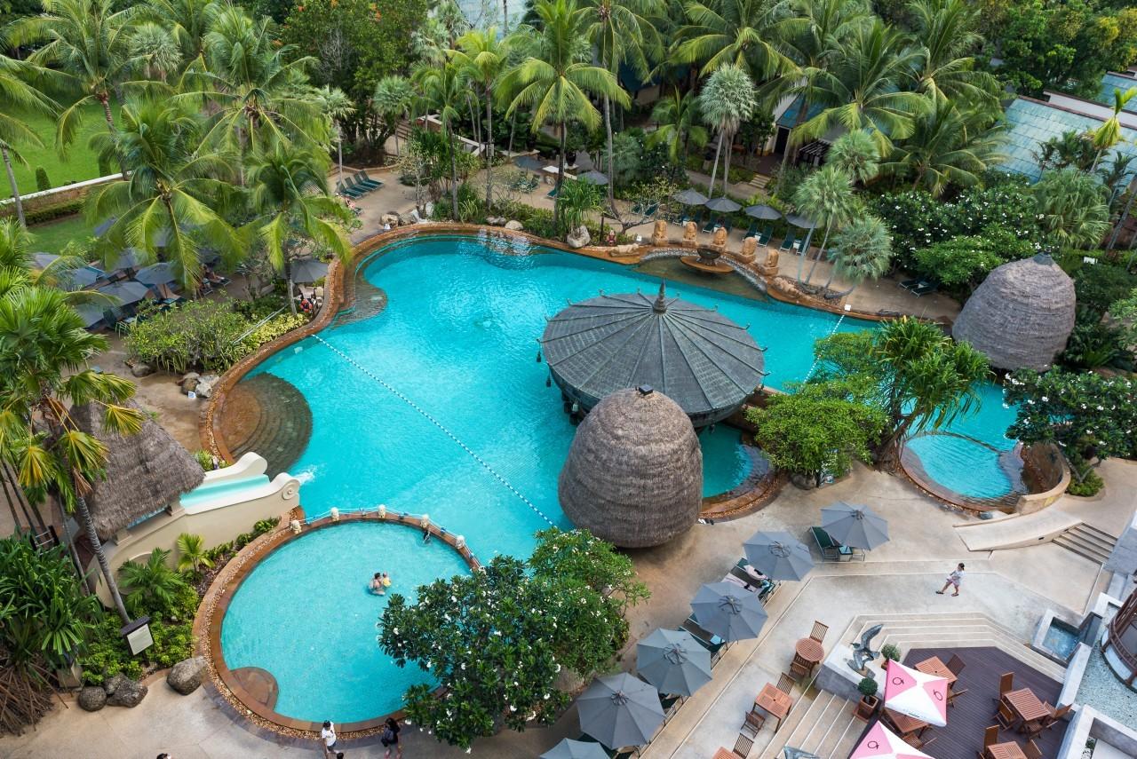 Une des nombreuses du Mövenpick Resort & Spa à Karon Beach à Phuket