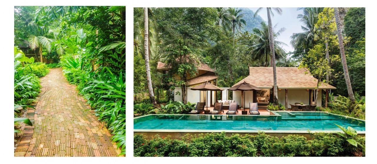 Découvrir le Rayavadee Resort à Krabi