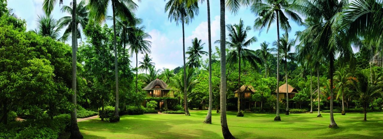 Se perdre dans la verdure du Rayavadee Resort