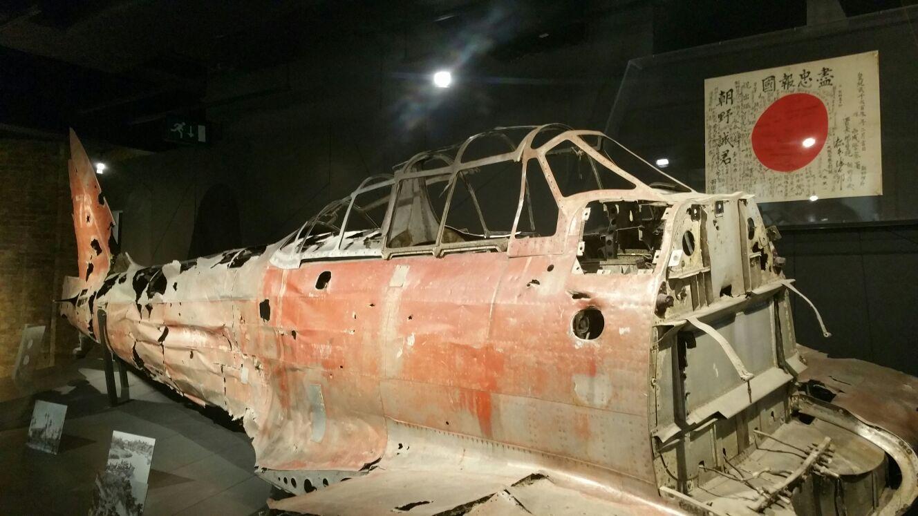 Un vieil avion de guerre à retrouver à l'Impérial War Museum