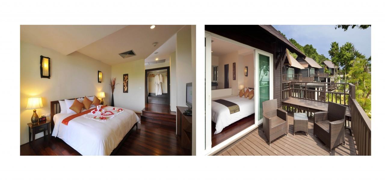 Dans une chambre au Holiday Inn à Koh Phi Phi