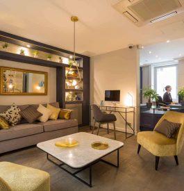 Rejoindre un hôtel chic à Paris