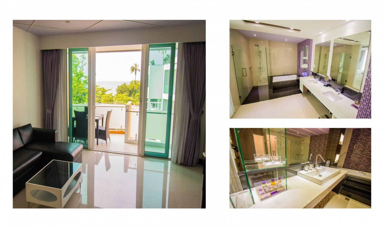 Dans une des nouvelles suites du L Resort à Krabi
