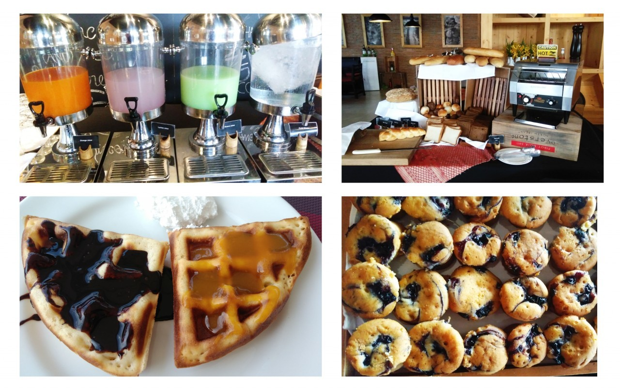 Prendre son petit-dejeuner au Mövenpick Resort & Spa à Karon Beach à Phuket