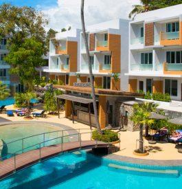 Parvenir jusqu'au L Resort à Krabi