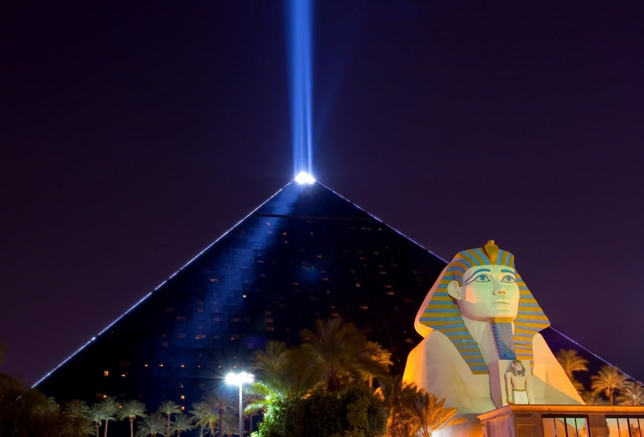 Las Vegas pour flamber un peu au Luxor