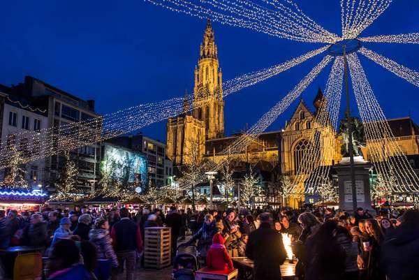 Marché de Noël à Anvers