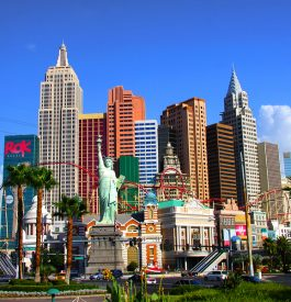 Arpenter Las Vegas pour flamber