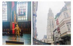 Dans la cathédrale d'Anvers