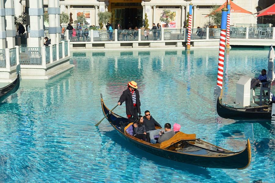 Las Vegas pour flamber un peu au Venetian à Las Vegas